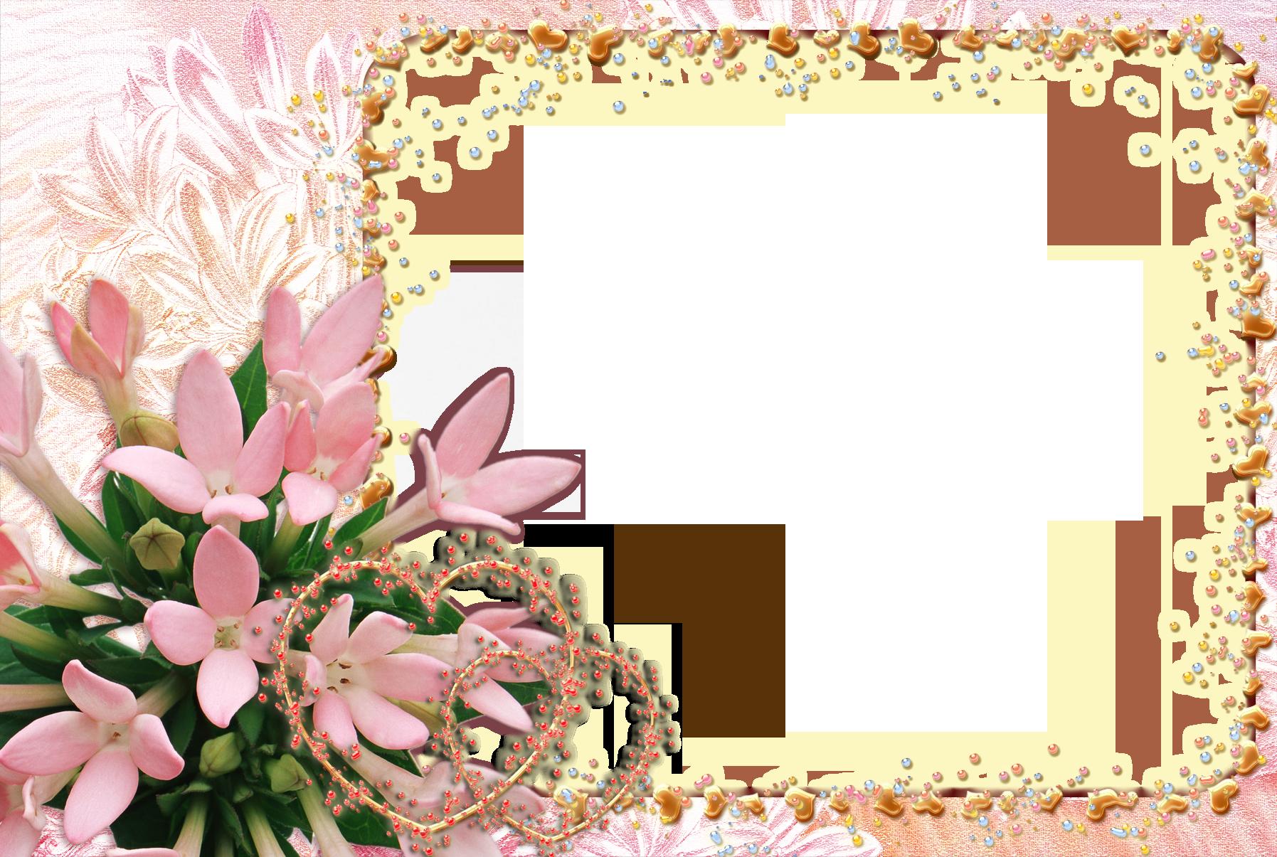 Фоторамки и шаблоны поздравления с 8 марта